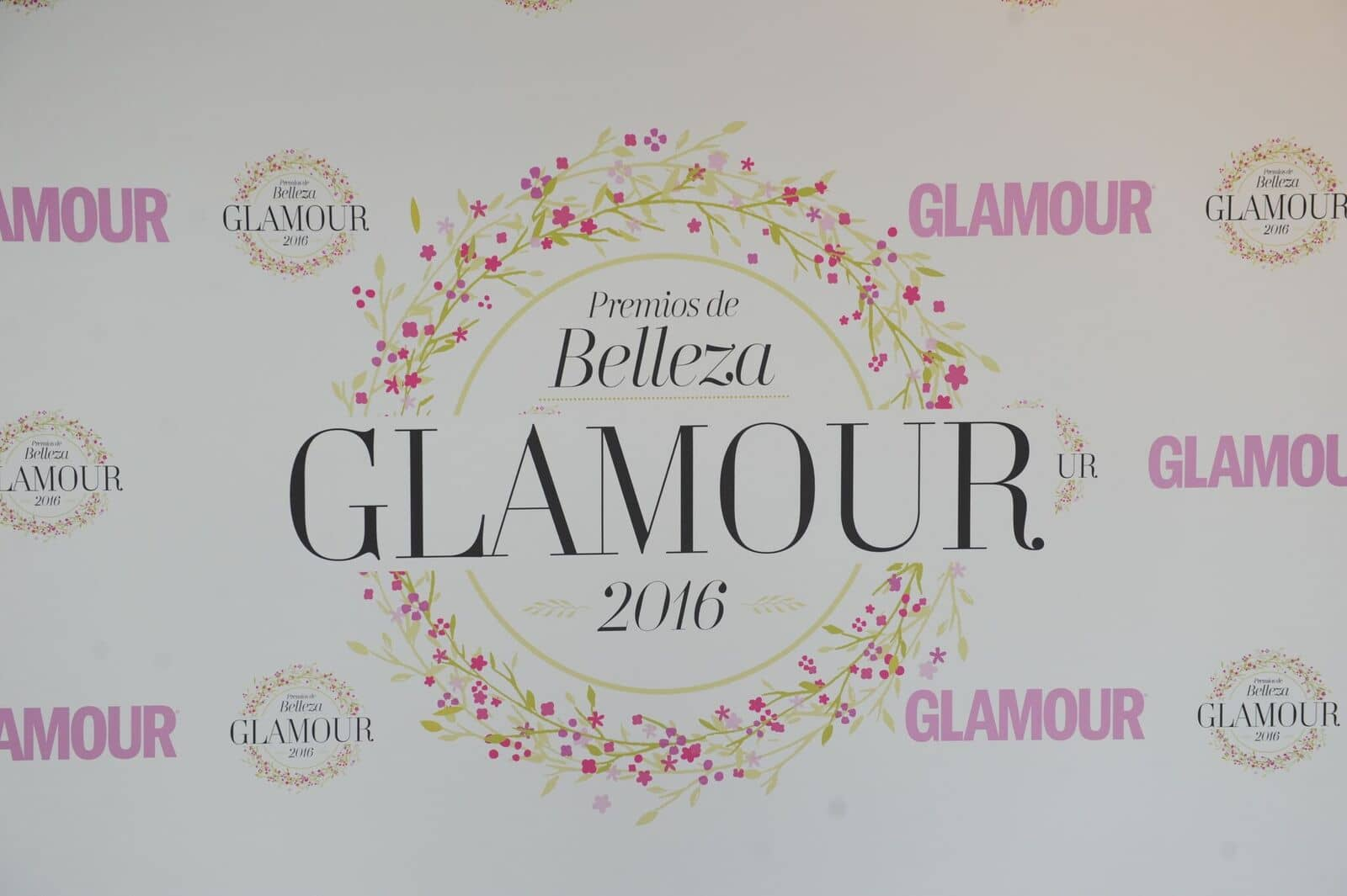 Selfie Backdrop | Conde Nast - Glamour Beauty Awards