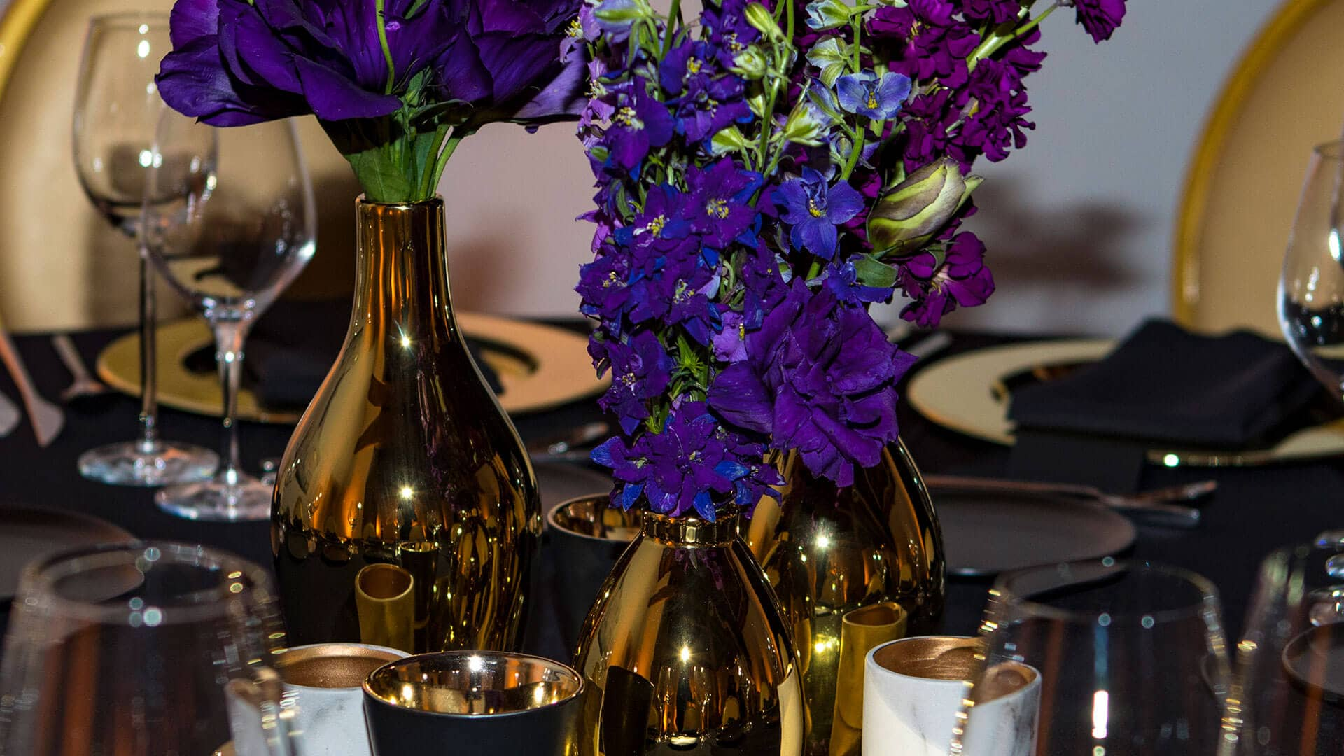 Centerpieces | Moet Hennessy VIP Dinner