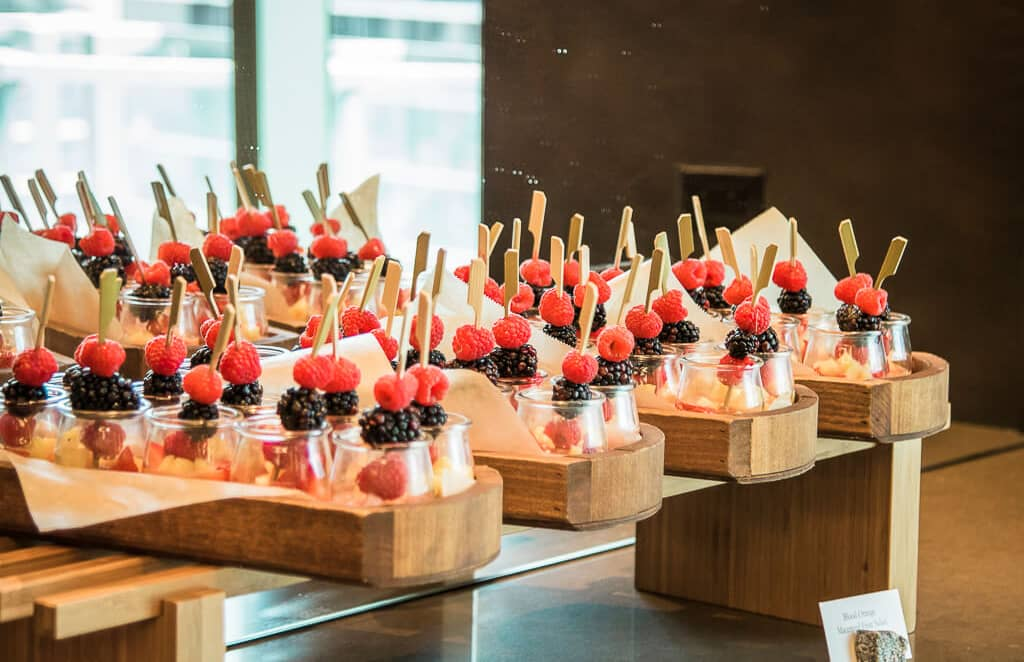 Buffet presentation ideas | Revlon Distributor Summit