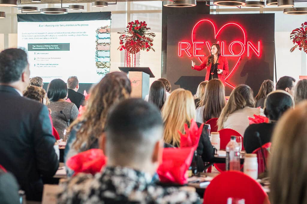 Event branding | Revlon Distributor Summit