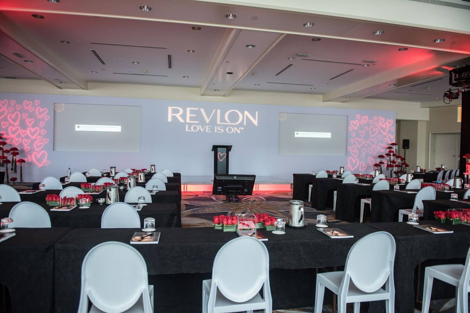 U-shape meeting setup | Revlon Distributor Summit